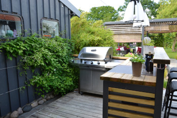 Outdoor Kitchen Design Ideas For Small Spaces Danielle Fence Outdoor Living