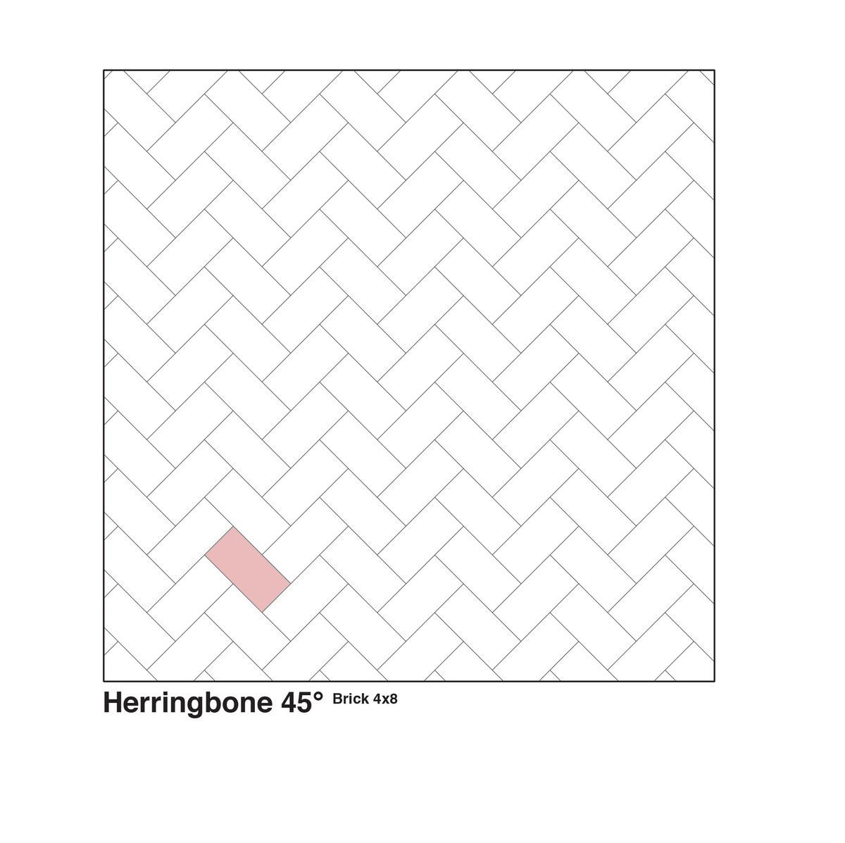 Herringbone 45