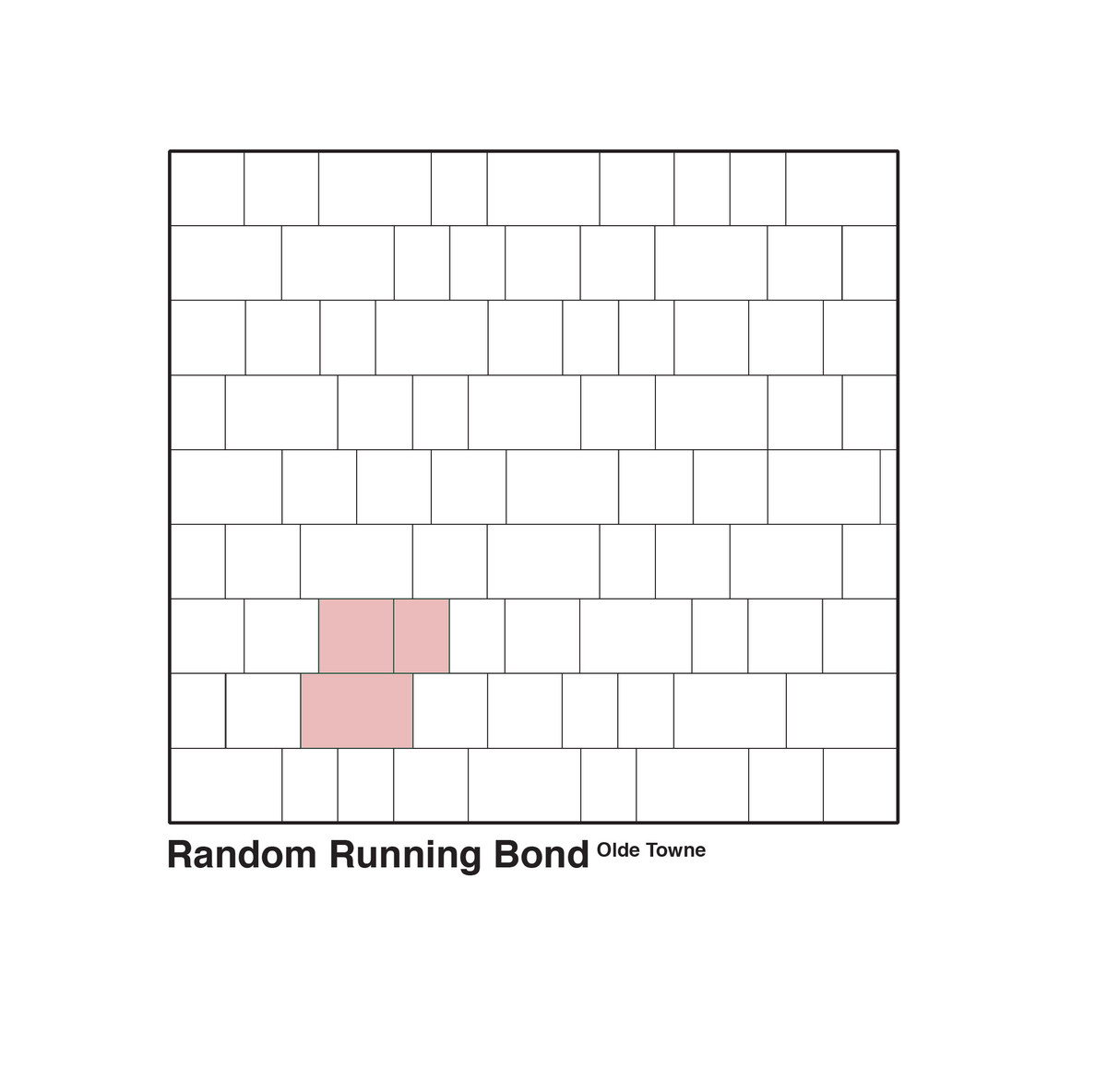 Random Running Bond
