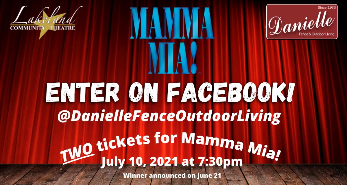 Mamma Mia Ticket Rotator