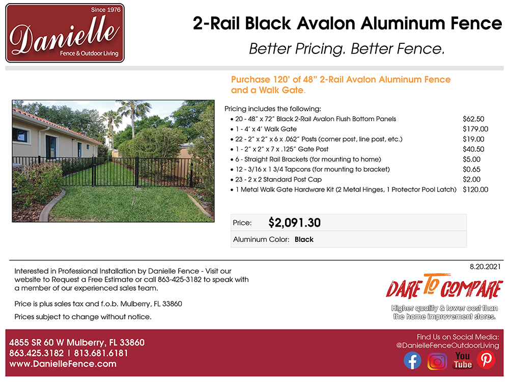 PrePackaged 2RL Aluminum Bundle_08232021